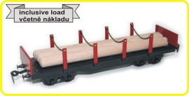 9431 flat wagon CSD series Sgs