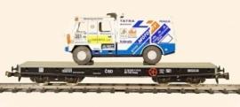 491 flat car 4 axles CSD  serie Smmp