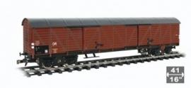 590 DR gesloten wagon lang 4 asser