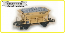 9412 ballastwagen, hopper  CSD serie St met lading, with load