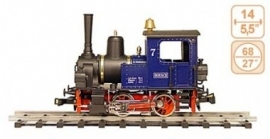 126 steamlocomotive for steel industry Hoesch