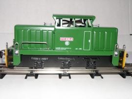 8120 diesellocomotive CSD T 711 green