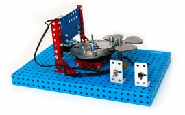 900095 Maltezer kruis mechanisme