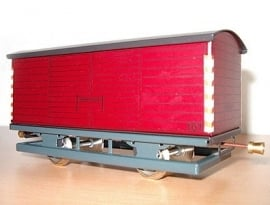 Säksiche Überlandbahn goederenwagen 101. 3000-20-213