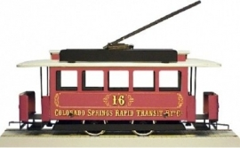 58 USA CO, tram from Colorado Springs, metal, gauge 0