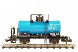 465 ketelwagen SBB CFF met remmersplatform serie R, ARAL