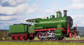 9166 steamlocomotive series K.k.St.B. 166 with tender