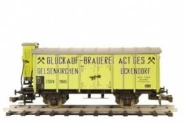 485 Duitse bierwagen Glückauf Brauerei