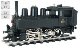 182 locomotive à vapeur  CSD serie 422.022 chemin de fer locale