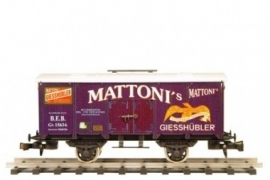 456 koelwagen B.E.B.voorr Mineral Water Mattoni