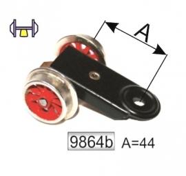 9864 B voorloopwiel locomotief