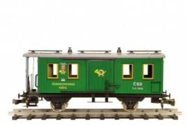504 Post-  und Gepäckwagen CSD