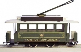 53  Germany, all round tram , metal, gauge 0