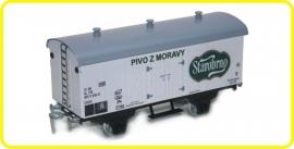 9548 wagon couvert de brasserie Starobrno