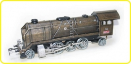 8150 steam locomotive CSD 387 Mikado bronze