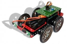 040258 robot chassis Atmel en RC