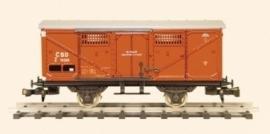431 gedeckter Güterwagen  CSD reihe Z