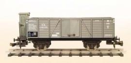 408 open wagon K.K.St.B. serie Kc met remmershuis
