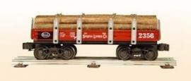 412SLC rongenwagen Sequoia Lumber Co met hout
