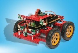04302 robot chassis 02 wielen Atmel en RC