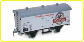 9551  wagon couvert de brasserie Mestan