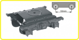9861 Drehgestell 2 Achsen 53 mm