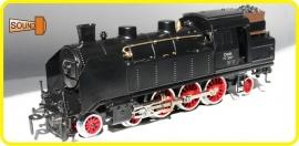 9196  locomotive à vapeur  ÖBB 77.207