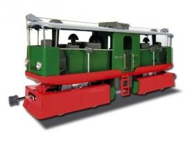 tram à vapeur 99 162 vert , 3000-22-101