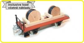 9475 platte wagen met elektrakabels CSD