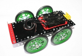 040241 robot chassis ongemotoriseerd