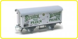9526 wagon couvert de brasserie Prazdroj Urquell