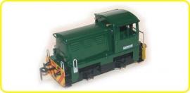 8110 diesellocomotief CSD T 701, pug diesel  groen
