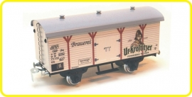 9561  wagon couvert de brasserie  Ur-Krostitzer