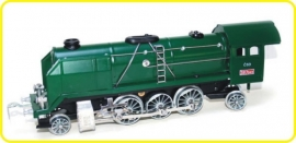 8102 Dampflokomotive  CSD  Reihe 387 Mikado grün