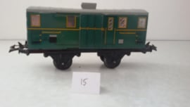 HORNBY brake van, fourgon