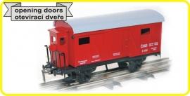 9499 gesloten wagon CSD serie Lp met remmershuis