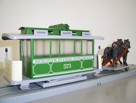 Strassenbahn Berlin Pferdestrassenbahn 573, 3000-20-115-2