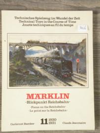 MÄRKLIN nr 11 Blickpunkt Reichsbahn