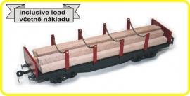 9432 rongenwagen 4 assig CSD serie Sgs met lading