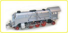 8104 locomotive à vapeur CSD 387 Mikado en argent