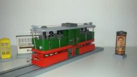 Dampfstrassenbahn 99 162 grün, 3000-22-101