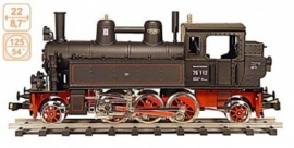 167 steamlocomotive DR 75112
