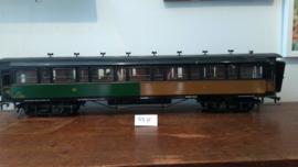 Wilag/Twerenbold PLM rijtuig 2e en 3e klasse, spoor 1