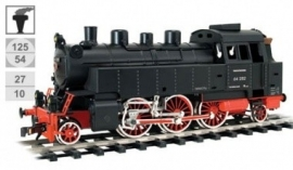 176 steamlocomotive DR serie 64