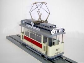 3000-20-117 Strassenbahn Chemnitz  Triebwagen nr 169