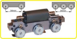9942 tinplate gauge 0 bogie  94 mm