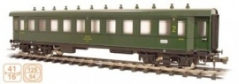 326 coach SNCF  series B, second class