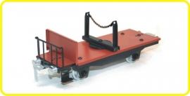 9470 platte wagen met draaiend sluitstuk CSD