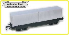 9422 flat wagon  CSD serie Smmps