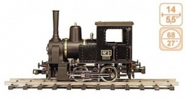 129 French industrial steamlocomotive